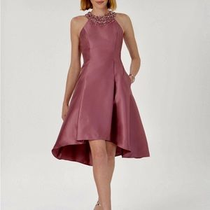 Beautiful Adriana Papell high-low cocktail dress!